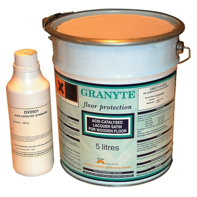 Beckers Granyte SATIN Lacquer for Wood Flooring 5L