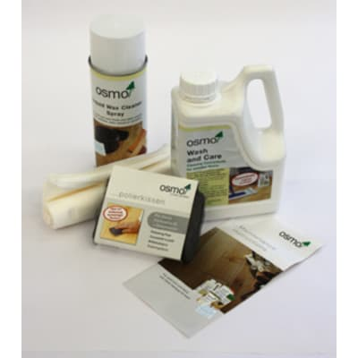 Osmo Wood Floor Maintenance Kit Oil / Wax / Lacquer
