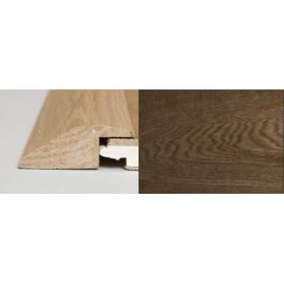 Smoked Oak Ramp Bar Flooring Profile Solid Hardwood 2m