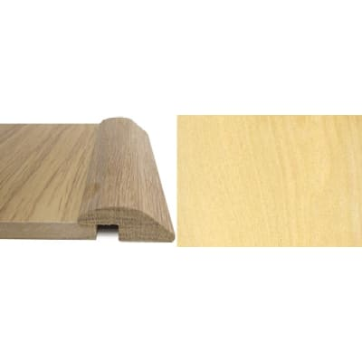 Maple Ramp Bar Flooring Profile 7mm Rebate Solid Hardwood 2.7m