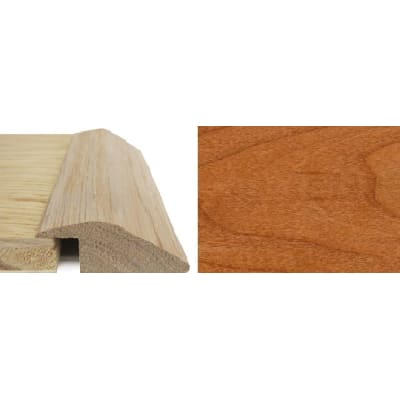 Cherry Ramp Bar Flooring Profile 15mm Rebate Solid Hardwood 2.4m