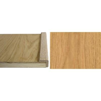Oak Solid Hardwood  19mm L-Quadrant 2.7m for Flooring