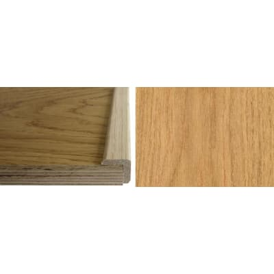 Oak Solid Hardwood  24mm L-Quadrant 2.7m for Flooring