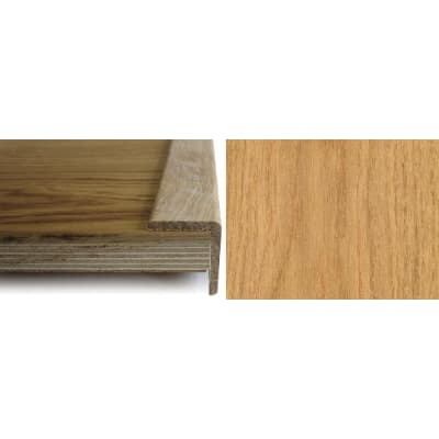 Oak Solid Hardwood  39mm L-Quadrant 2.7m for Flooring