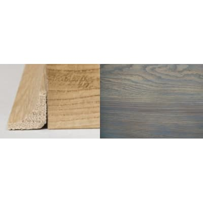 Titanium Grey Stained Oak Solid Hardwood Scotia 3m for Flooring