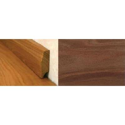 Walnut Pencil Round Solid Hardwood Skirting 1.0m for Flooring