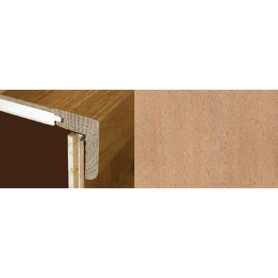 Beech Stair Nosing Profile Soild Hardwood 2.4m