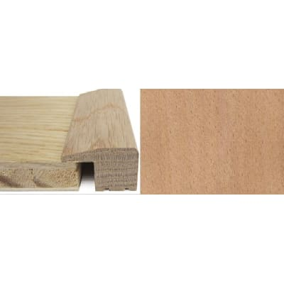 Beech Square Edge Soild Hardwood Flooring Profile Solid Wood 15mm 2.4m