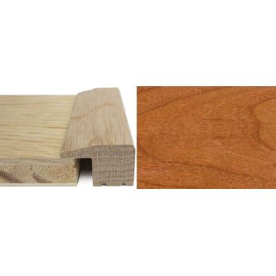 Cherry Square Edge Soild Hardwood Flooring Profile Solid Wood 15mm 2.4m