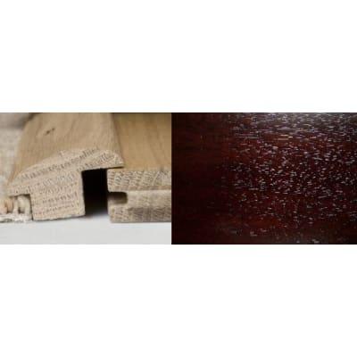 Dark Walnut Wood to Carpet Profile Soild Hardwood 2m