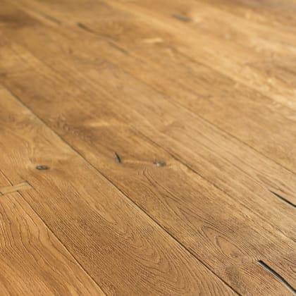 Balmoral Oak Semi Smoked Oiled Heavy Distressed Brushed 290mm Hardwood Flooring