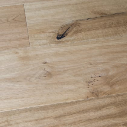 Rustic Barley Oak Hard-Waxed Oiled Hand-Scraped & Distressed 240mm Hardwood Flooring