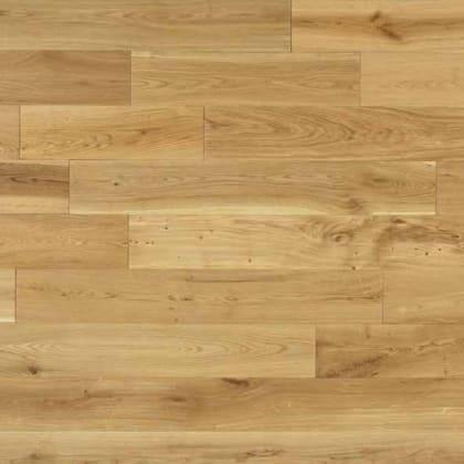 Oak 14mm x 125mm Lacquered Hardwood Flooring