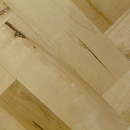 Natural Maple 228mm Herringbone Parquet Block