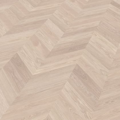 Kronborg Oak Brushed & Natural Oil Chevron Parquet Flooring