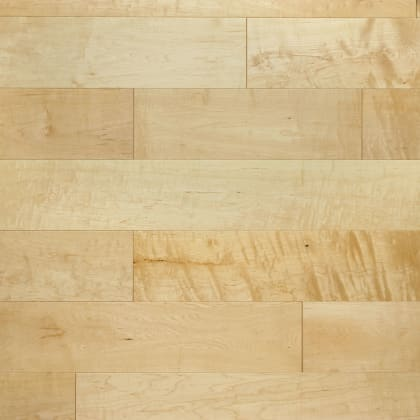 Natural Maple Lacquered Solid Wood Flooring