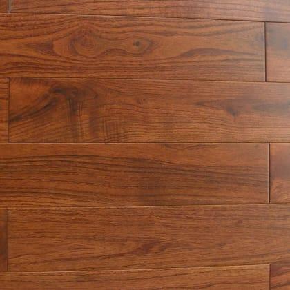 Teak (Tectona) Lacquered Solid Hardwood Flooring