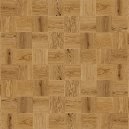 Mini Cube Mosaic Natural Oak Oiled Parquet Flooring