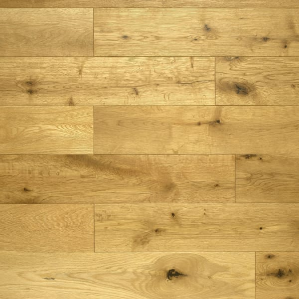 Oak Natural Brushed Oiled 14mm x 125mm Engineered Hardwood Flooring