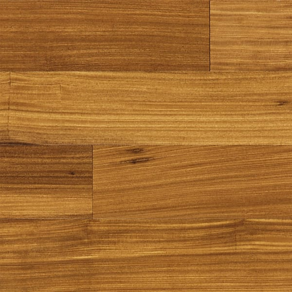Afromosia (African Teak) Lacquered Solid Hardwood Flooring