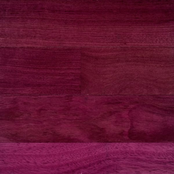 Purpleheart (Jarrah) Lacquered Engineered Hardwood Flooring