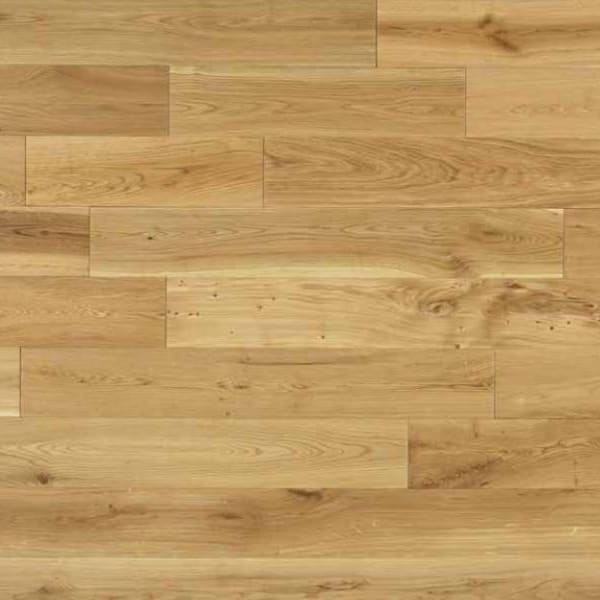 Oak 14mm x 125mm Lacquered Hardwood Flooring