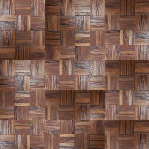 Mahogany 5 Finger Mosaic Parquet