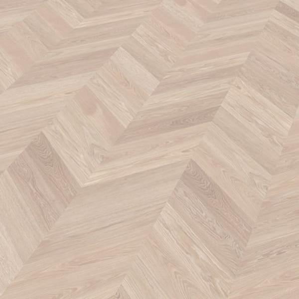 Kronborg Oak Brushed & Natural Oil Chevron Parquet Flooring
