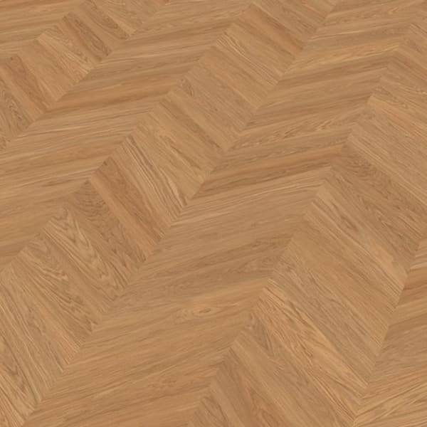 Light Rustic Oak Oiled Chevron Parquet Flooring