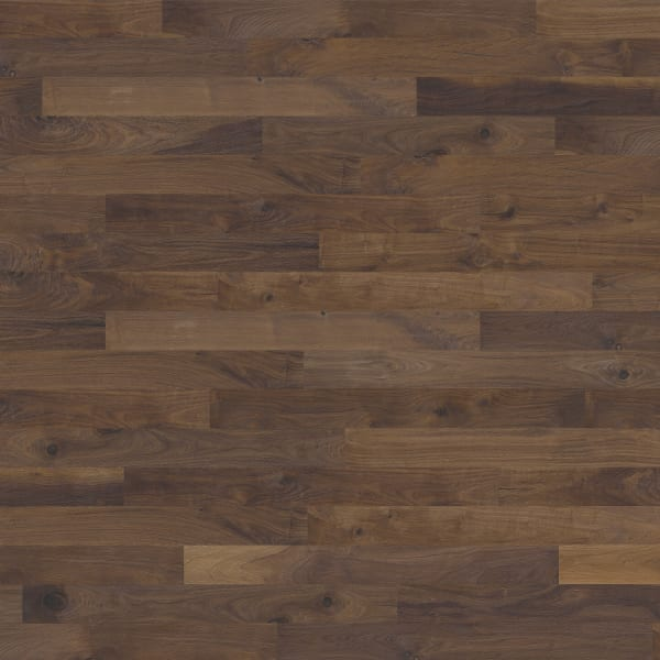 Groove Walnut Brushed Oiled Hand scraped Hardwood Engineered Wood Flooring