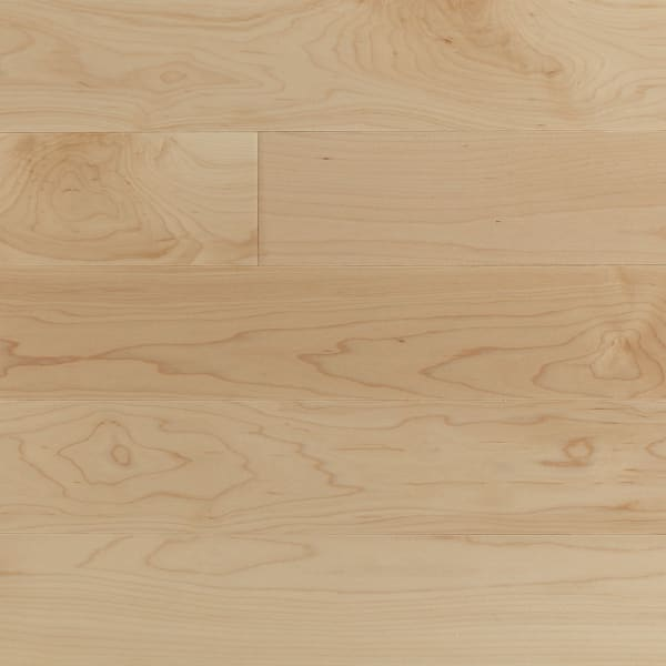 Maple Select Solid Lacquered Wood Flooring