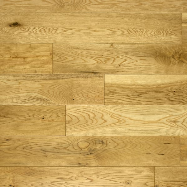 Oak 125mm Lacquered Hardwood Flooring