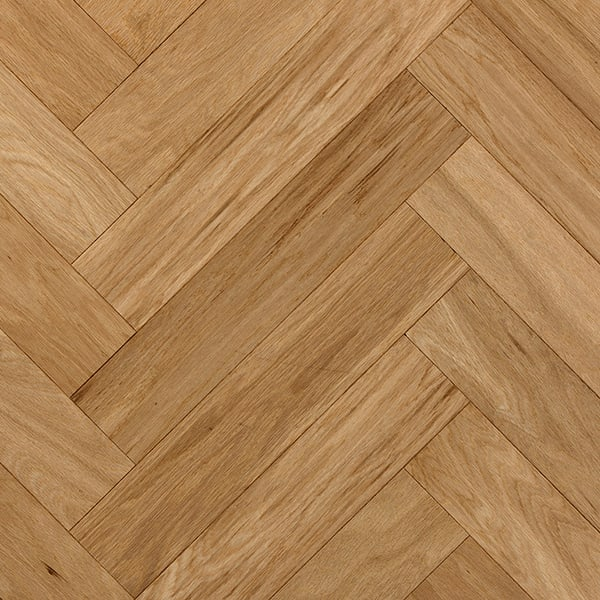 Herringbone Oak Engineered Unfinished Block Parquet Flooring