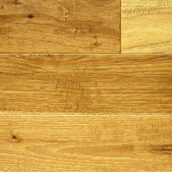 Antique Hickory Hand Scraped Hardwood Engineered Wood Flooring