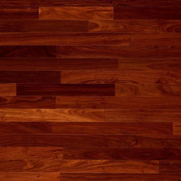 Mahogany Hi-Gloss Solid Wood Flooring