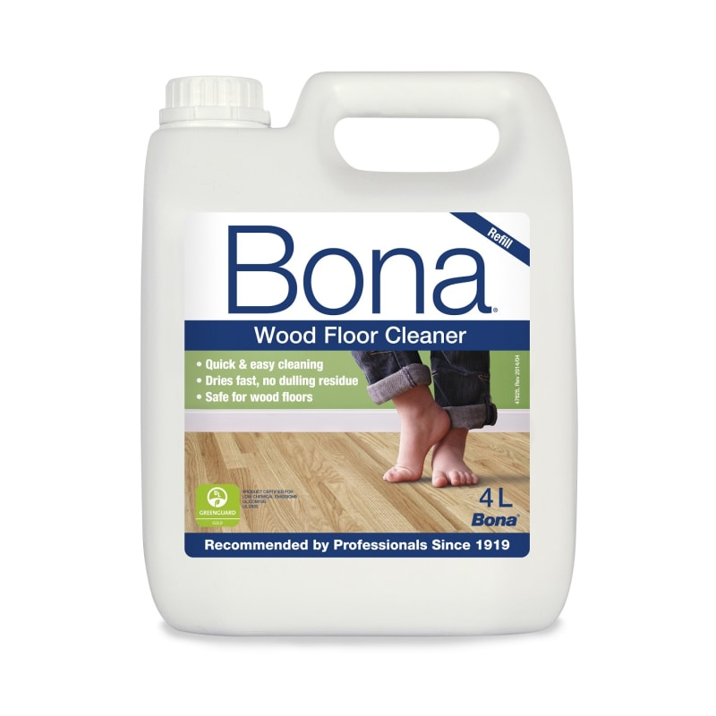 Bona Wood Floor Cleaner 4L Refil for Spray Cleaning