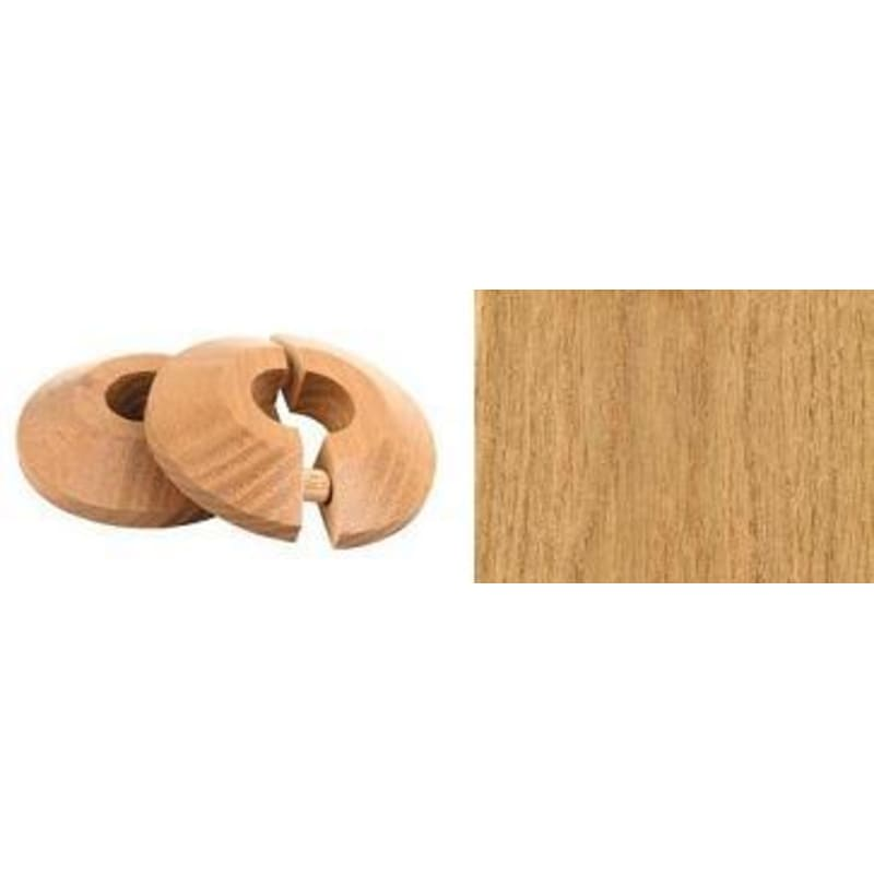 Oak Pipe Rose Pack of 2 Finishing Touch
