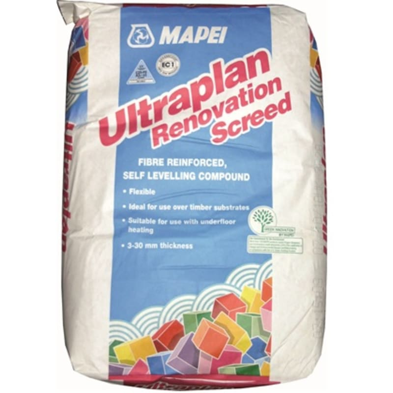 Mapei Ultraplan Renovation Screed Leveller / Screed