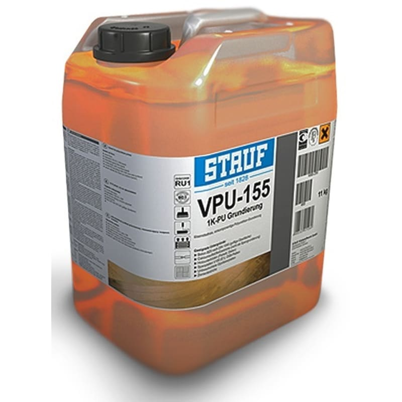 Stauf Polyurethane Primer VPU155 (solvent free) 11g Liquid Damp Proof Membrane