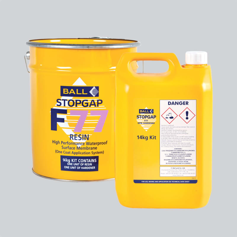 Ball F77 Stopgap 1 Coat 14kg Liquid Damp Proof Membrane