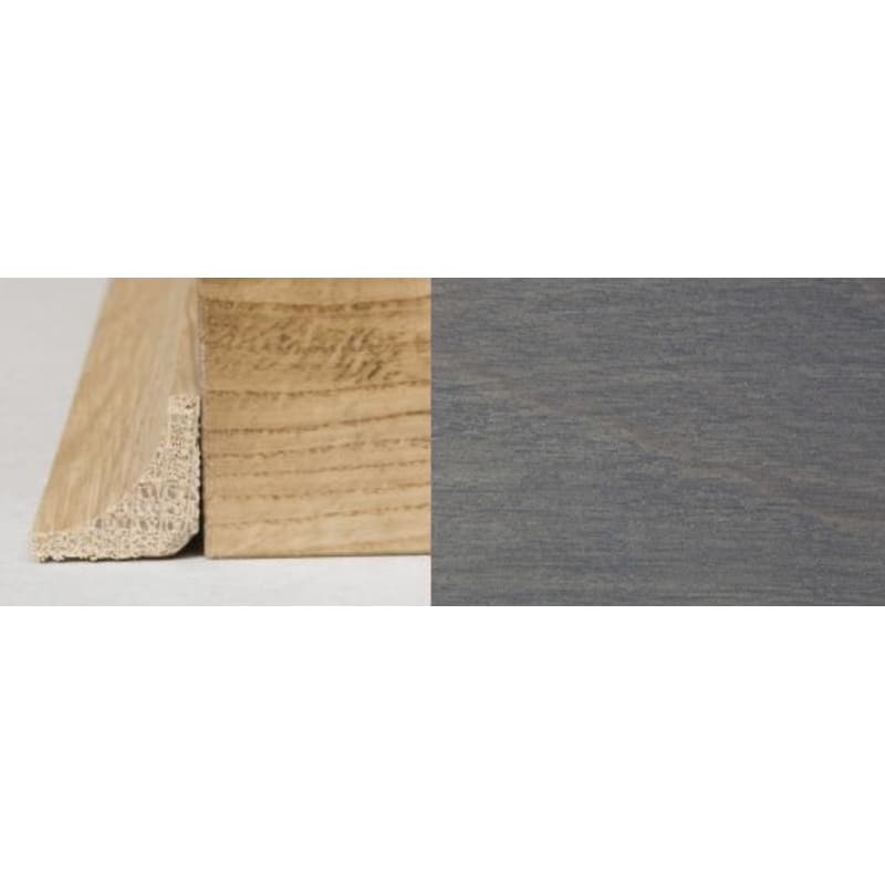 Silver Grey Stained Oak L Quadrant Scotia