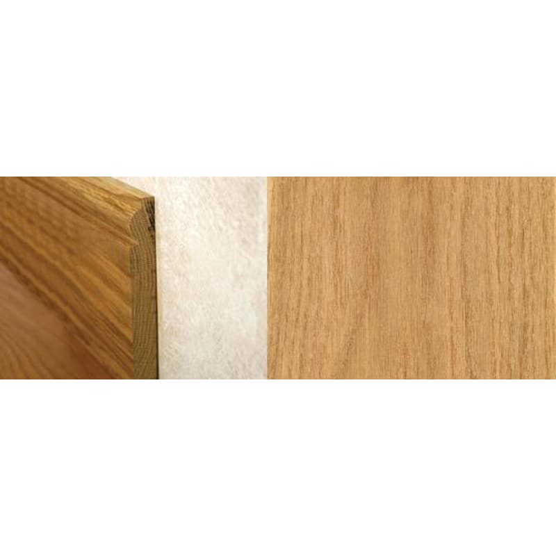 Natural Oak Torus Skirting 2.4mtr Skirting