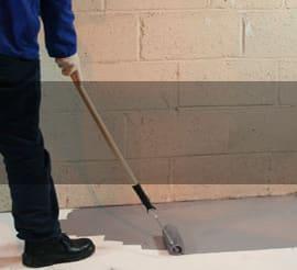 Liquid DMP for flooring