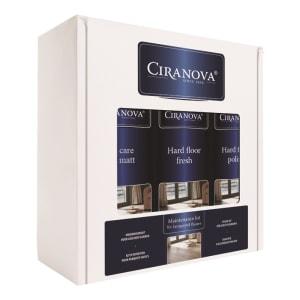 Ciranova Satin Lacquered Wood Floor Maintenance Kit