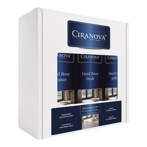 Ciranova Satin Lacquered Wood Floor Maintenance Kit