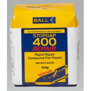 Ball Stopgap 400 Repair Mortar for Wood Flooring 10kg