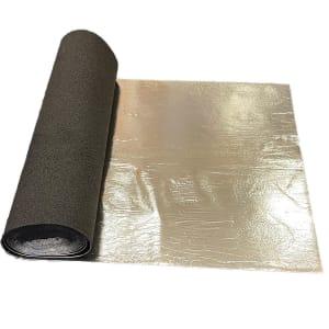 Silver Rubber Crumb Wood Flooring Underlay built-in DPM 3.5mm