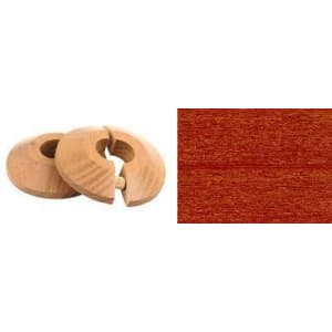 Kempas Solid Wood Pipe Rose Pack of 2
