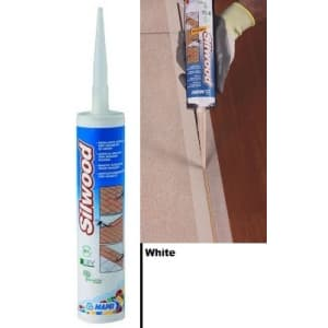 Mapei Silwood Cartridge White Wood Flooring Sealant - 310ml