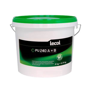 Lecol 2 Part Wood Flooring Adhesive PU240 6.75kg